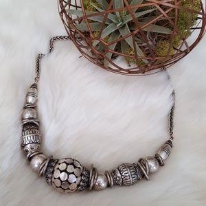 Antique Tibetan Silver Necklace